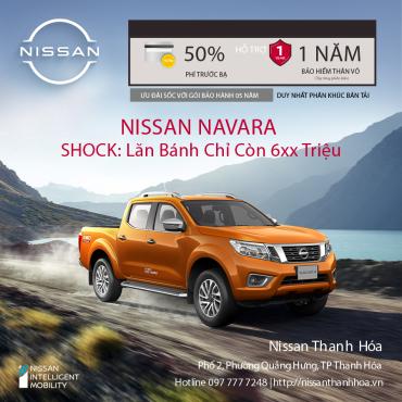 [Ưu Đãi Lớn Nhất Năm]  Mua Nissan Navara Duy Nhất Trong Tháng 7/2021