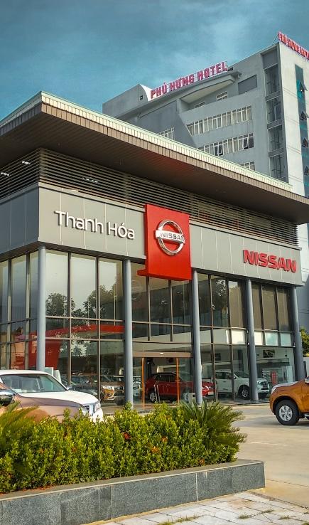 Showroom Nissan Thanh Hóa